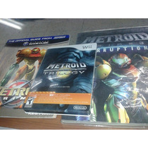 Metroid Prime Trilogy Nintendo Wii Caja Metalica Y Guia