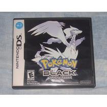 Pokemon Black O Negro Para Ds O 3ds