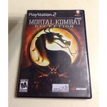 Juego Ps2 Mortal Kombat Deception