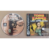 Tomb Raider The Last Revelation Buena Condi Disco Y Manual++
