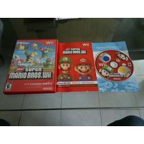 New Super Mario Bros Completo Para Nintendo Wii,excelente