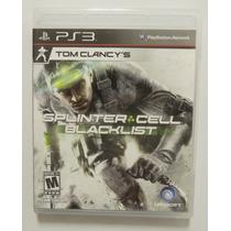 Splinter Cell Blacklist Para Playstation 3 , Ps3