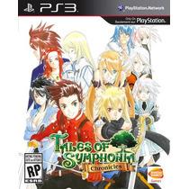 Tales Of Symphonia Chronicles Ps3 Playstation Nuevo Sellado