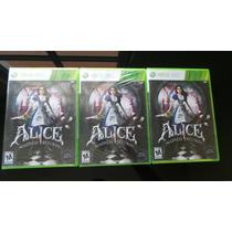 Alice Madness Returns Xbox 360 Nuevo, Sellado