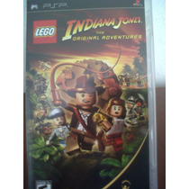 Psp Sony Lego Indiana Jones Adventures, Seminuevo, Original