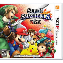 °° Super Smash Bros Para 3ds °° En Bnkshop