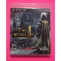 Two Worlds Ii Para Ps3 - Playstation 3