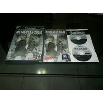 Metal Gear Solid Twin Snake Completo Para Nintendo Game Cube