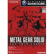 Metal Gear Solid The Twin Snakes Gamecube Japonesa
