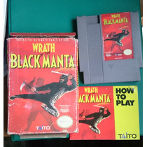 Wrath Of The Black Manta Taito Nes Nintendo