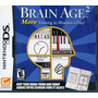 Brain Age 2: More Training In Minutes A Day! Nintendo Ds