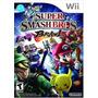Super Smash Bros Brawl Wii Usado - Blakhelmet R E