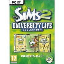 Sims 2 University Life Collection Juego Para Computadora