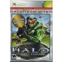 Juego Halo Combat Evolved Para Xbox Nuevo P H Blakhelmet E