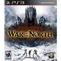 The Lord Of The Rings War In The North Ps3 Nuevo Citygame