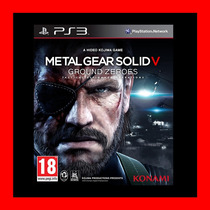 Metal Gear Solid V Ps3 Oferta !!!