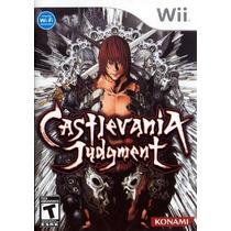 Wii / Wii U Castlevania Judment (mercado Pago Y Oxxo)