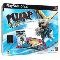 Pump It Up Exceed Playstation 2 Tapete + Juego- Nuevo