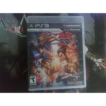 Street Fighter Vs Tekken Para Play Station 3