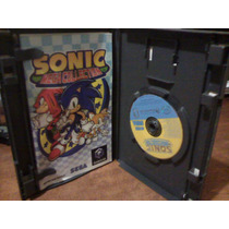 Un Juego Game Cubo Sonic Colecion 7 In1