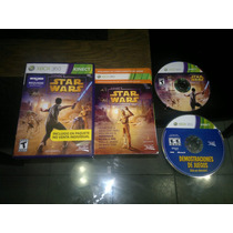 Kinect Star Wars Completo Para Xbox 360,excelente.