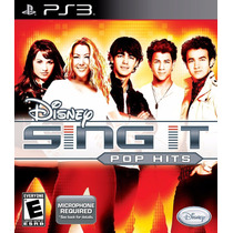 Ps3 Disney Sing It Pop Hits Y 2 Microfonos Nuevos Logitech
