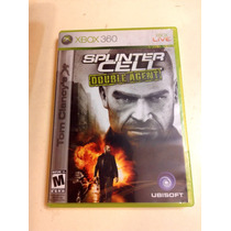 Juego Xbox 360 Splinter Cell Double Agent