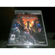 Resident Evil Operation Raccoon City Nuevo Play Station 3