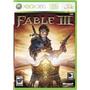 Fable 3 Xbox 360 + Envio Gratis