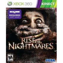 Rise Of Nightmares Para Xbox 360 Kinect Nuevo Y Sellado Hm4