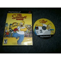 The Simpsons Game Para Play Station 2,excelente Titulo.