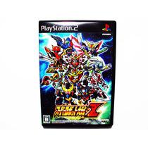 Super Robot Taisen Z Japones Ps2 - Playstation 2