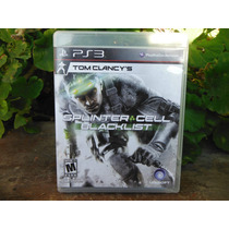 Splinter Cell Blacklist Para Ps3