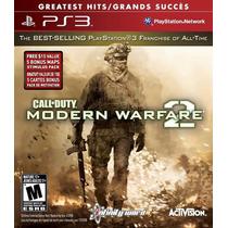 Call Of Duty Modernwarfare Playstation 3 Seminuevo