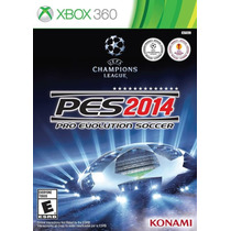 Pro Evolution Soccer 2014 Xbox 360 Nuevocitygame