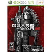 Gears Of War 2 Lancer Dorado Edicion Xbox 360 Blakhelmet D E