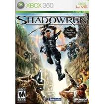 Shadowrun Xbox360 ++ Envio Gratis ++
