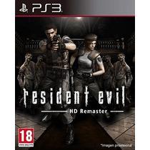 Resident Evil Remasterizado Ps3
