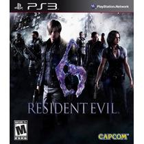 Resident Evil 6 Para Ps3 - Entrega Inmediata - Me Quedan Dos