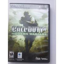 Call Of Duty 4 Mac Pc Como Nuevo Incluye Key (llave)