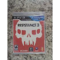 Resistance 3 Ps3 Nuevo