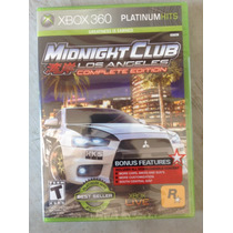 Midnight Club Los Ángeles Nuevo Sellado