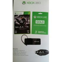 Halo Anniversary + Audifonos Bluetooth + Membresía Xbox Live
