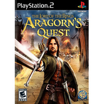 The Lord Of The Rings Aragorns Quest Ps2