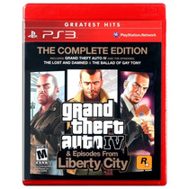 Ps3 - Grand Theft Auto Iv The Complete Edition