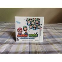 Mario & Luigui: Dream Team Nintendo 3ds Nuevo Sellado