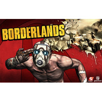 Borderlands + 3 Dlcs Cd-key Steam Pc Digital Super Precio!!