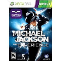 Michael Jackson The Experience Xbox 360 Nuevo Original
