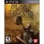 Clash Of The Titans Para Ps3 Playstation 3 Nuevo Y Sellado