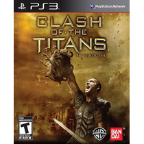 Clash Of The Titans Para Ps3 Playstation 3 Nuevo Y Sellado